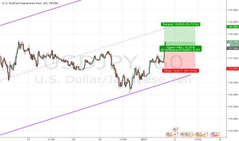 USDJPY: Strength in USD and weakness in JPY