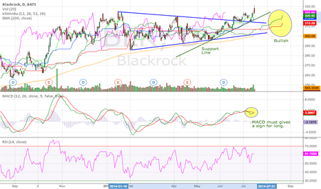 BLK: Blackrock (16.07.2014) Technical Analysis Training