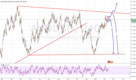 AUDUSD: Possible one small move to the upside before a major correction