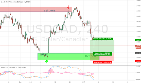 USDCAD: Loony ready to go to the moony