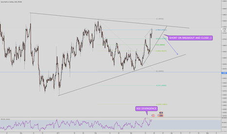 EURUSD: EURUSD don't miss this short