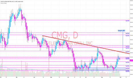 CMG: CMG long to potentionally 480-500
