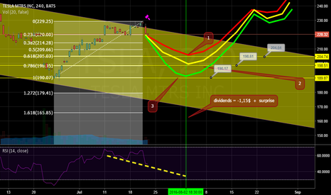 TSLA: Tesla --- last stop in the way to the top, 1, 2 or 3?