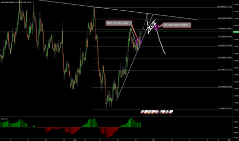 AUDUSD: AUDUSD possible move to the downside