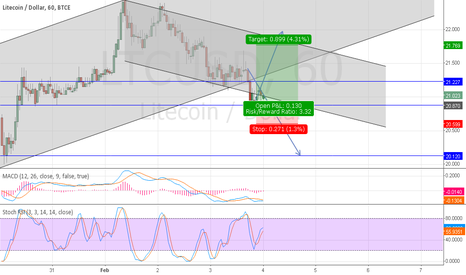 LTCUSD: LTC possible future for the next week