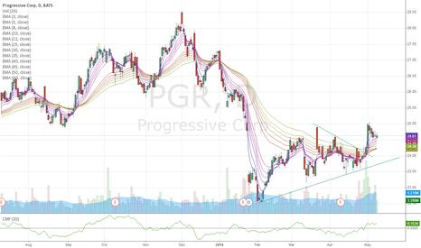 PGR: progressive corp - long pgr