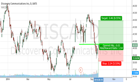 DISCA: DISCA support trade
