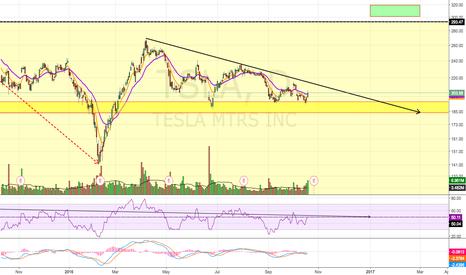TSLA: Potential Reversal Pattern