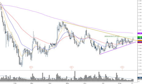 CRIS: we break the symethrical triangle and here comes the breakout