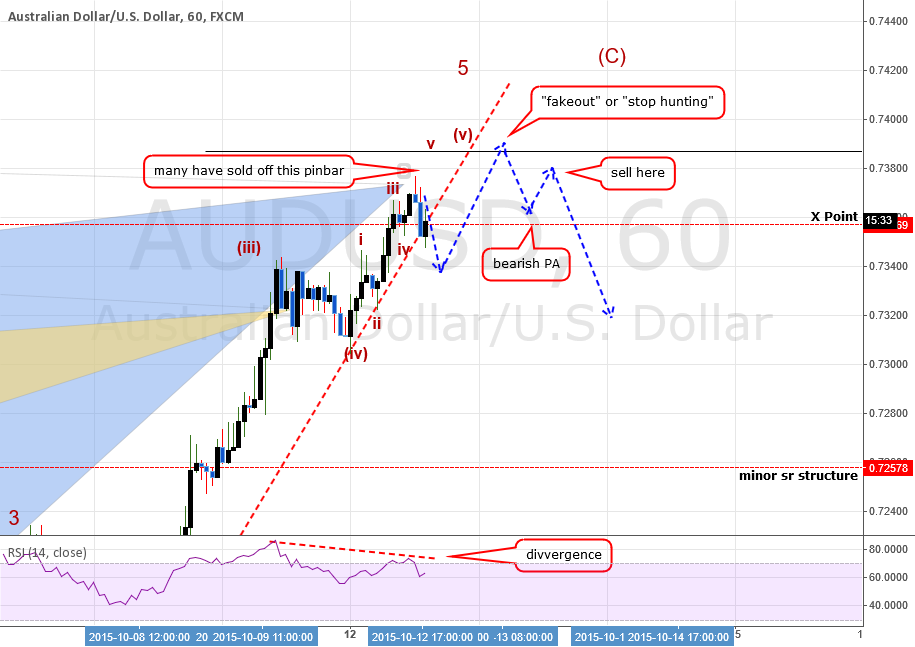 AUDUSD: A Lesson In Patience and Why I Am Waiting For PA