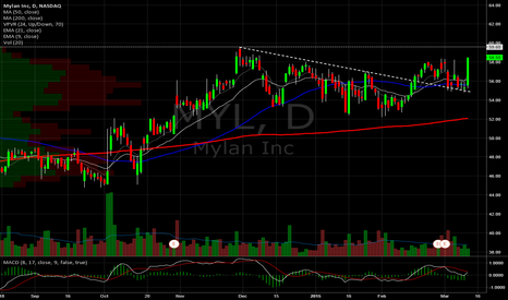 MYL: Mylan Daily. UPDATED