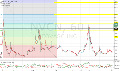 NVCN: Key level is $1.10
