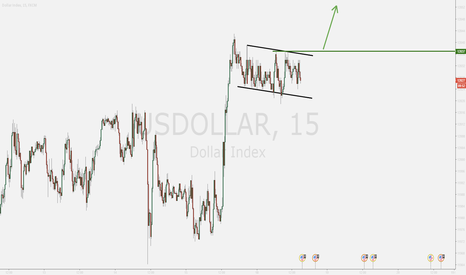 USDOLLAR: The Dollar Bull Flag