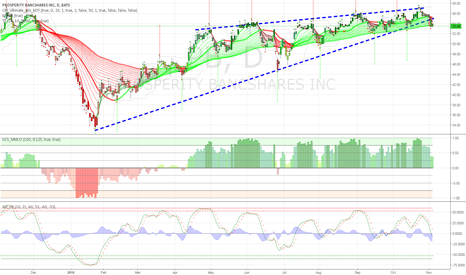 PB: Multiple bear patterns form within a larger rising wedge