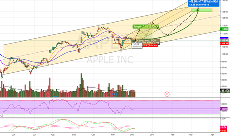 AAPL: Bullish 3 Month Projection