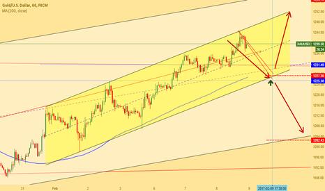 XAUUSD: Gold decide on 1227 level