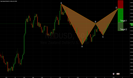 NZDUSD: NZDUSD: Bearish Bat