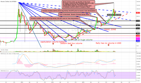 """BTCUSD: BTC WEEKLY CHART: """"The Panic Zone"""" Waiting for THE Cosmic Event"""