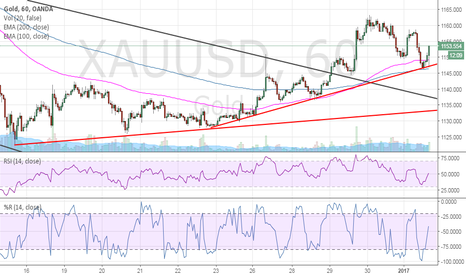 XAUUSD: Gold on a new ascending support