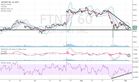 FTNT: FTNT looking to breakout?