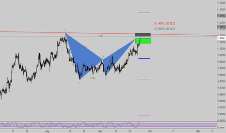 AUDCAD: Lovely Bat