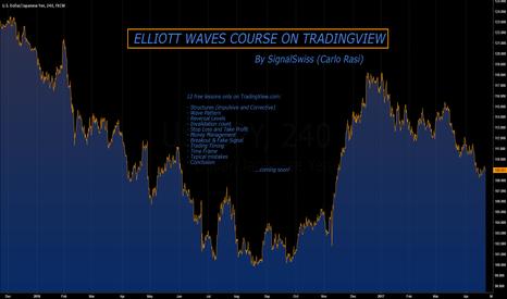 USDJPY:  ELLIOTT WAVES COURSE (By SignalSwiss)