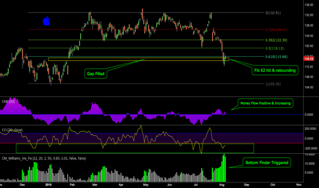 AAPL: Technically Speaking, we can see a Bullish Reversal on AAPL