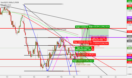 EURUSD: Possible ideas for the Euro