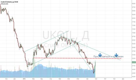 UKOIL: Среднесрочные продажи после корекции