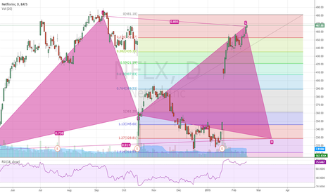 NFLX: NFLX Gartley pattern