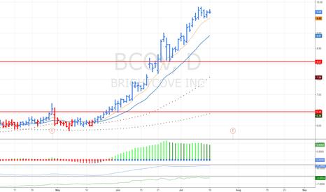 BCOV: Long opurtunity